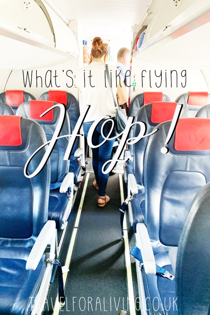 My experience flying Hop for the first time - Travel for a Living