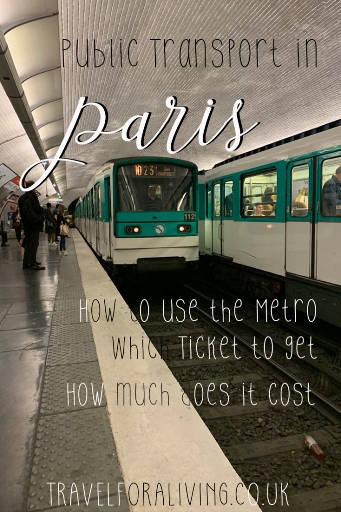 Public Transport in Paris - How to use, which ticket is best for Paris? Travel for a Living