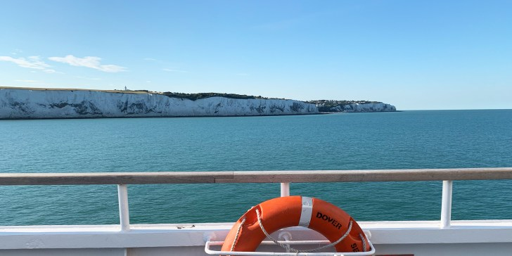 What's it like on ferry Dover to Dunkirk during Covid - Travel for a Living