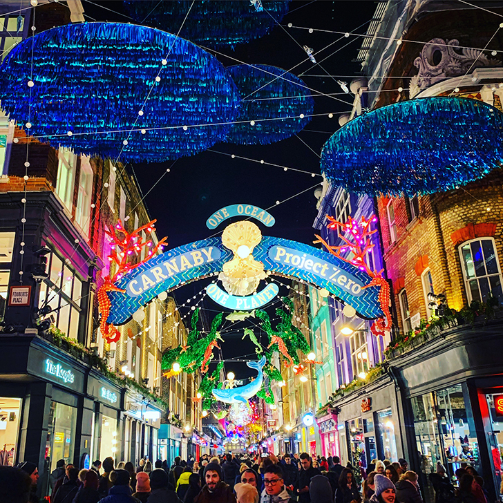 How to see London's best Christmas Lights on foot - Travel for a Living