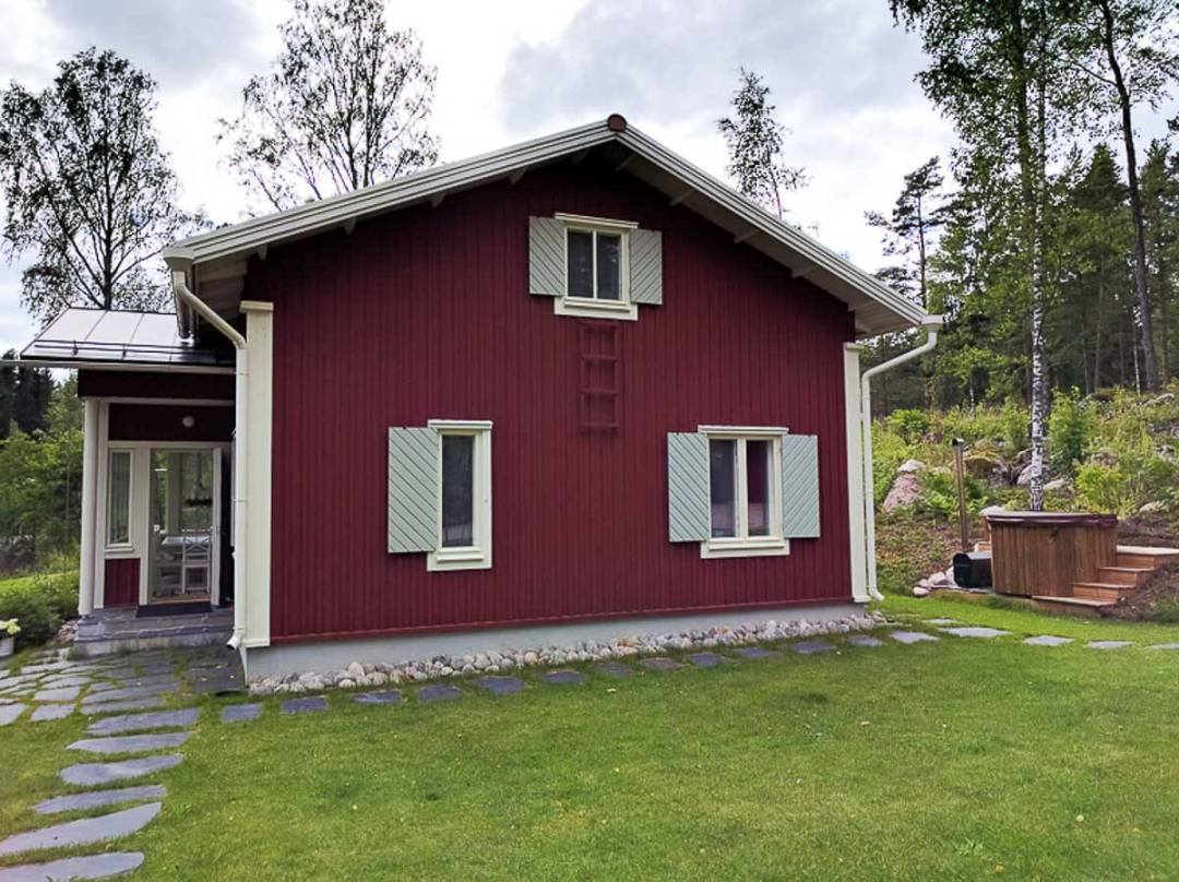 A new red home in Finland