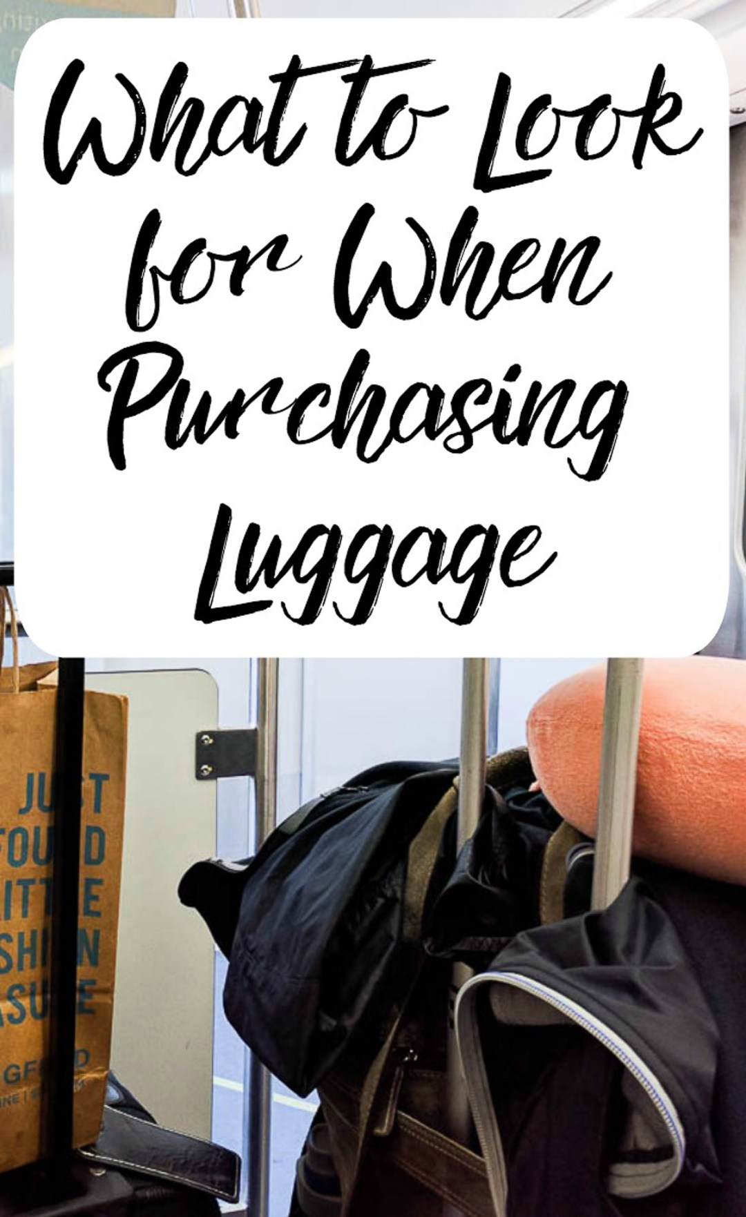 What to Look For When Purchasing Luggage