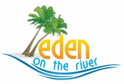 """""""eden on the river"""" logo"""