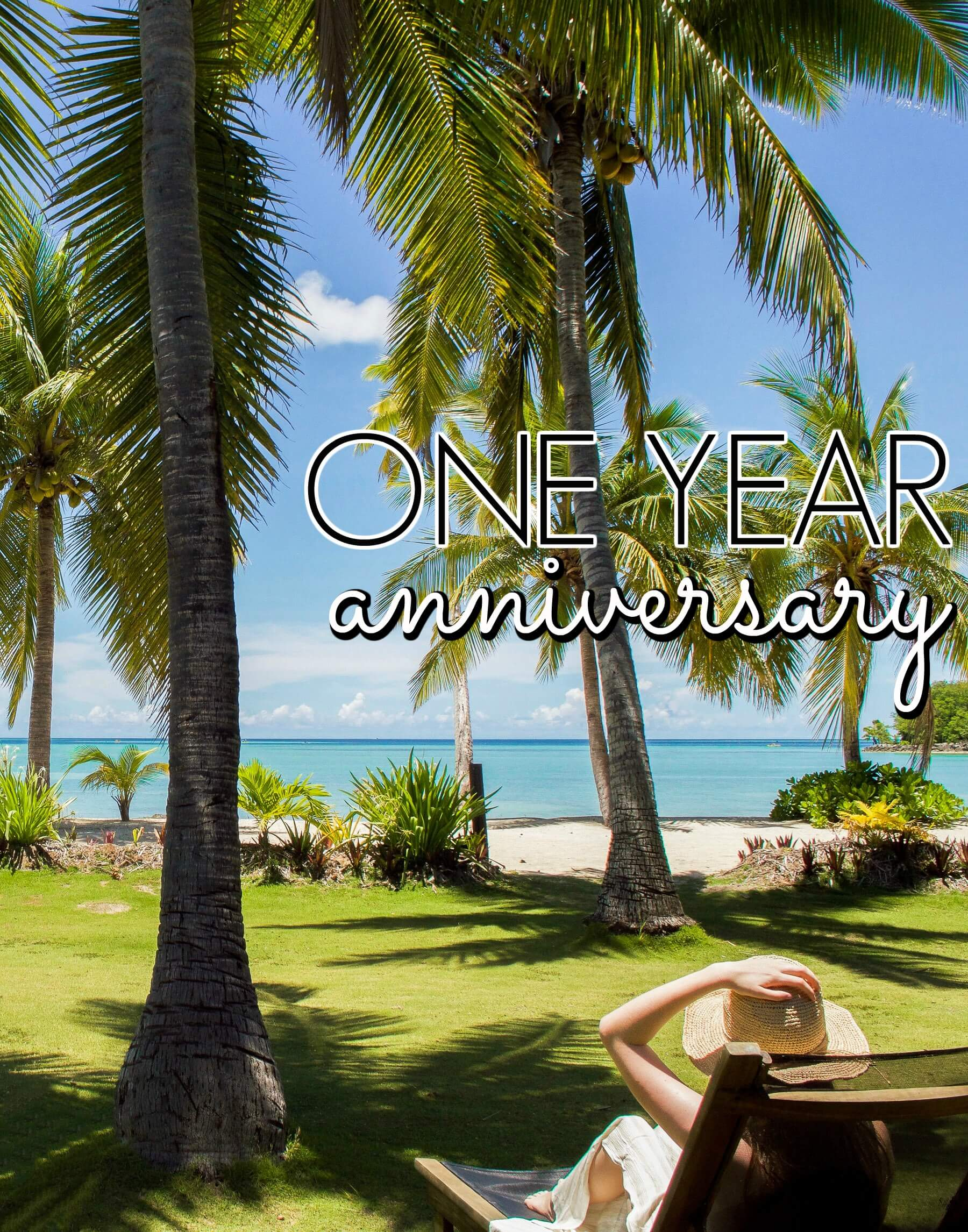 HERE'S TO ONE YEAR OF BLOGGING!