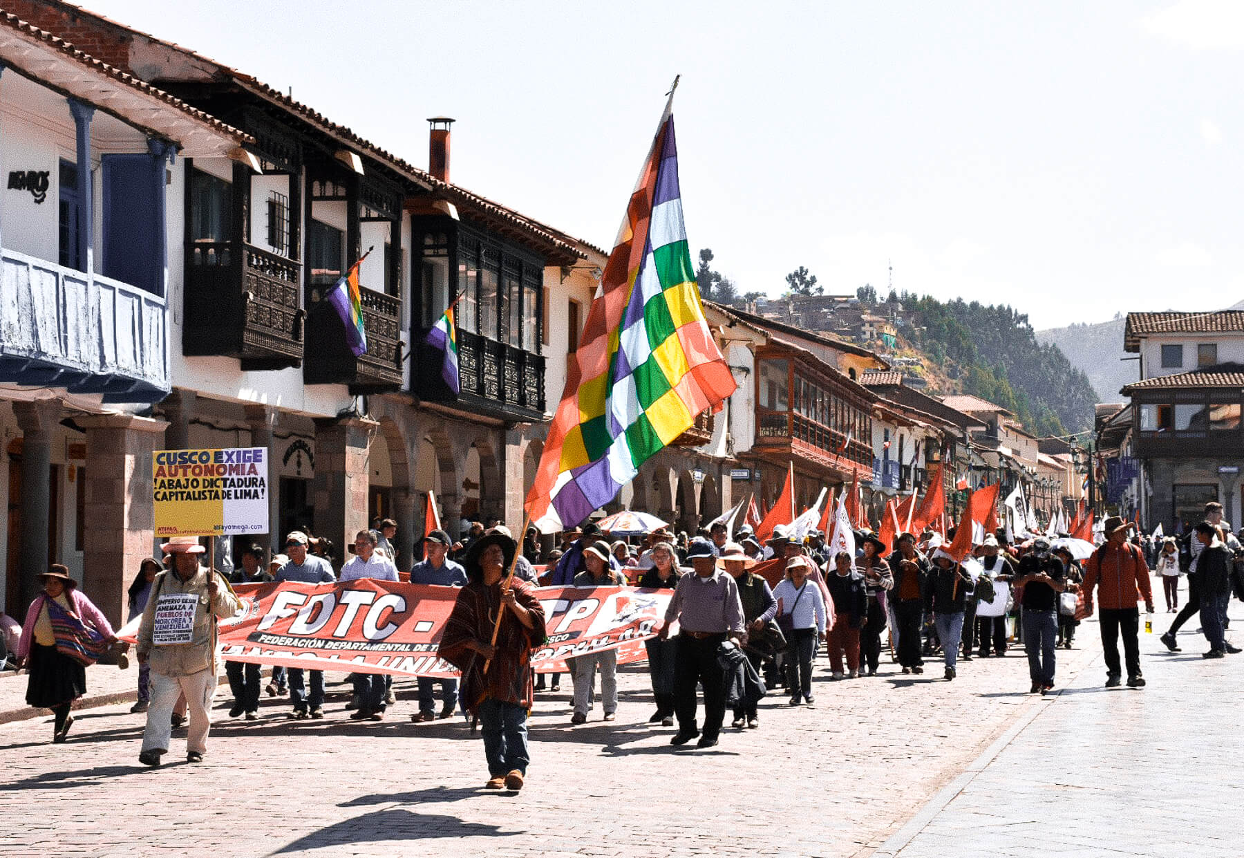 2017 Teaches Strike in Cusco