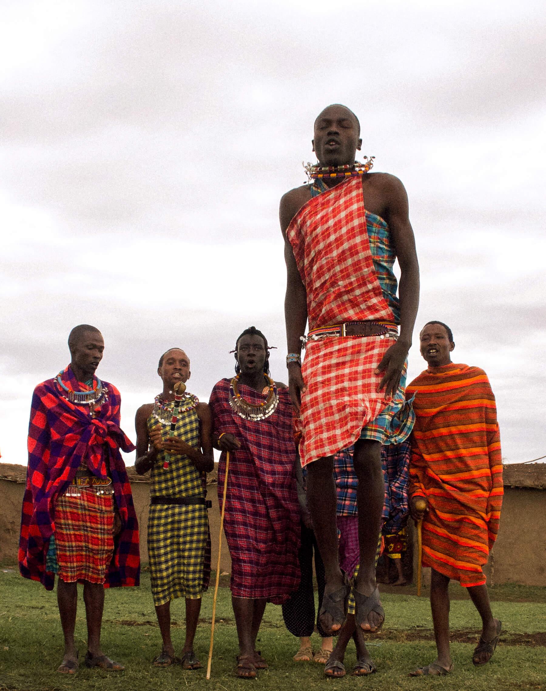 LIFE IN A KENYAN MAASAI VILLAGE