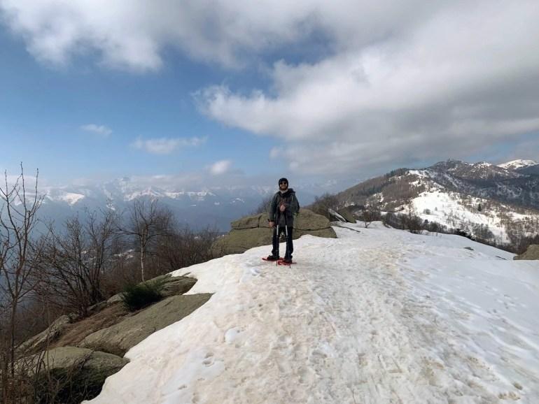 racchette da neve piemonte