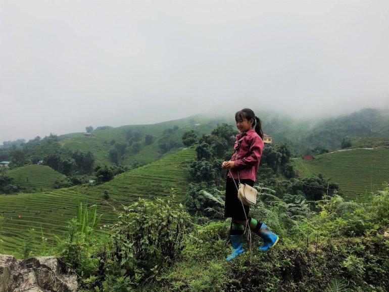 trekking in Vietnam a Sapa