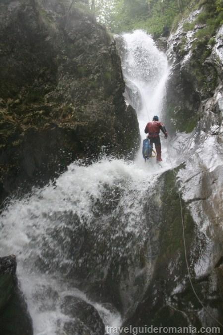 Canionul Ramnuta - canyoning in Romania