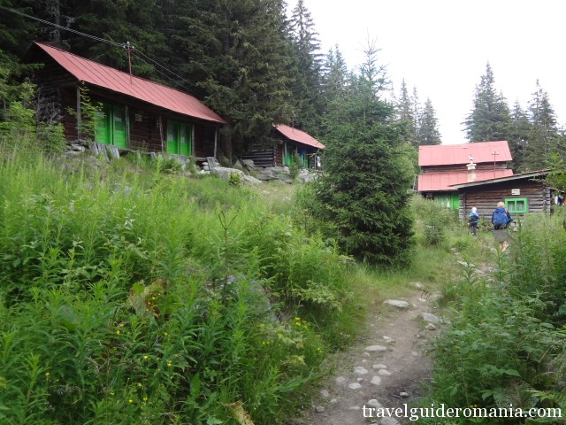 Pietrele lodge in Retezat mountains