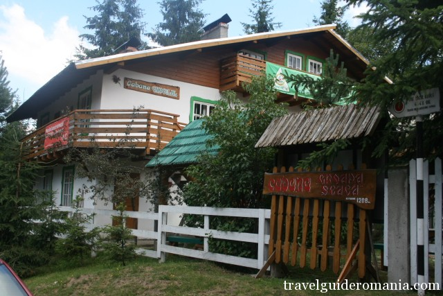Groapa Seaca lodge - DN7A road