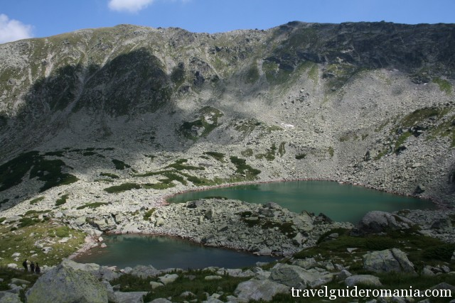 Parang mountains - Lung lake and Rosiile lake