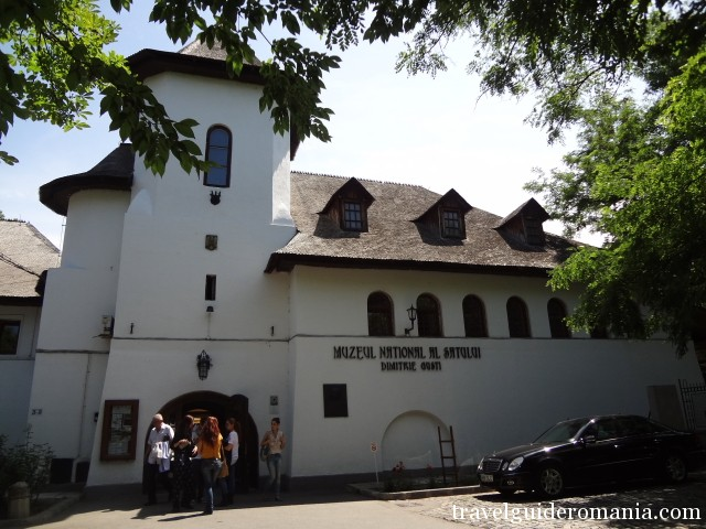 main entrance at Dimitrie Gusti National Village Museum in Bucharest