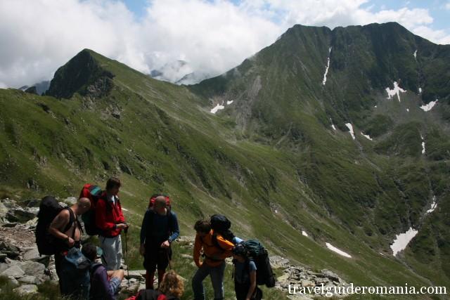 Moldoveanu peak and Vistea Mare peak