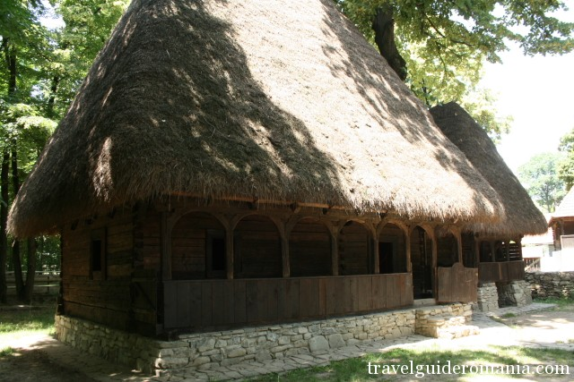 Traditional House from Transilvania folk area