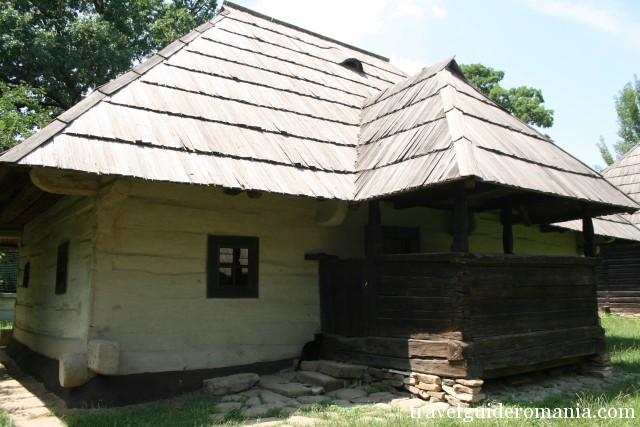 Traditional house from Moldova folk area