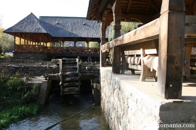 Traditional houses in Maramuresului Depression