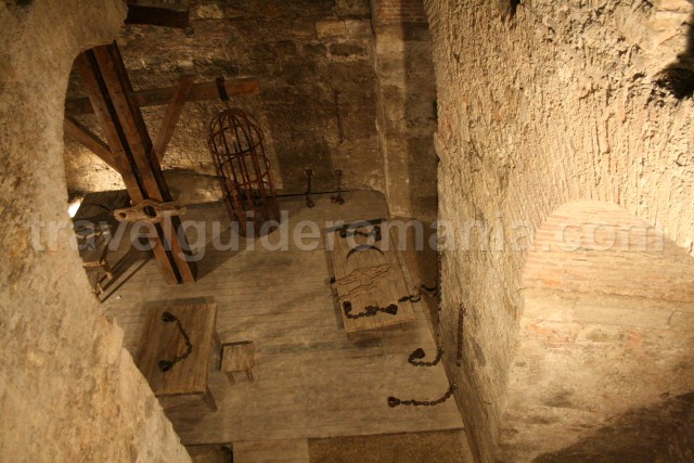 Prison in Alba Iulia citadel