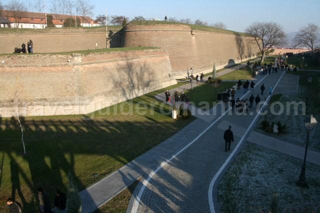 Visiting Alba Carolina Fortress