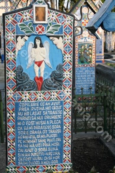 Cimitirul Vesel din satul Sapanta