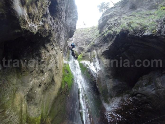 Canyoning in Parcul Natural Apuseni