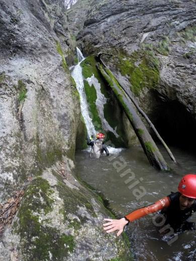 Marmita in Canionul Oselu - Parcul Natural Apuseni