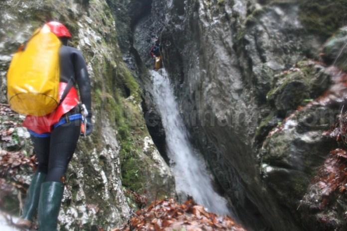 Canyoning pe canionul Cheia Rea - Muntii Apuseni