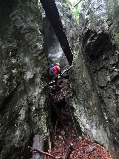 Verticalele 11 si 12 pe canionul Cheia Rea - descoperind Romania