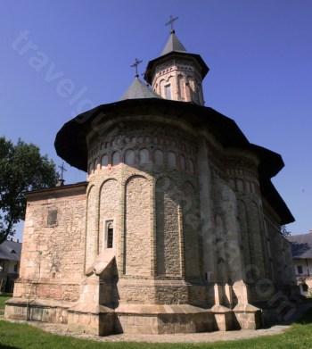 Biserica Inaltarea Domnului) - construita de Stefan cel Mare (domnitor al Moldovei)