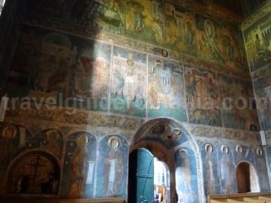 Biserica Inaltarea Domnului - picturi interioare