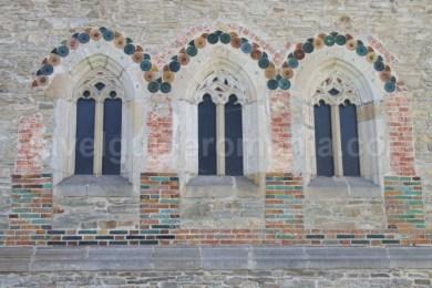 Detalii de fatada - Biserica Manastirii Neamt - Moldova