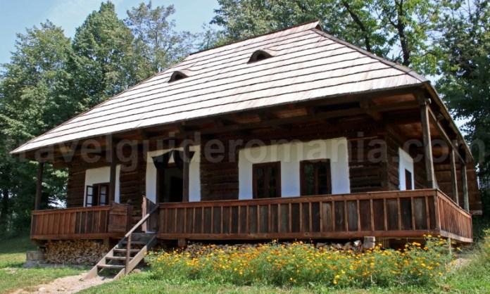 Casa traditionala din Bucovina - Moldova