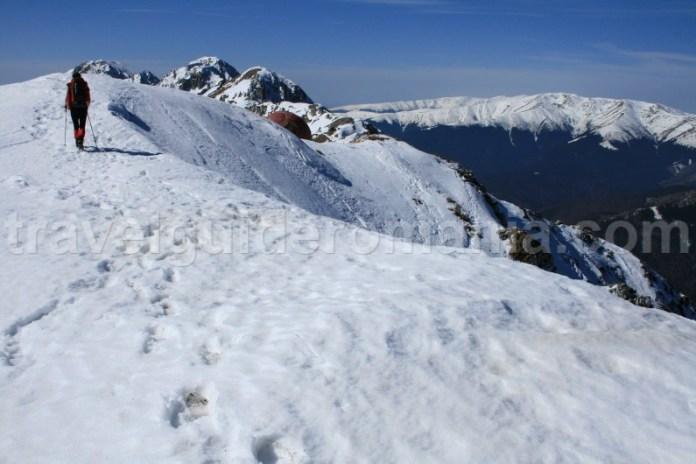 Muntii Piatra Craiului iarna - Romania