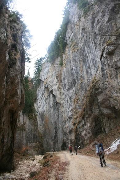 Rezervatia Prapastiile Zarnestilor - Muntii Piatra Craiului