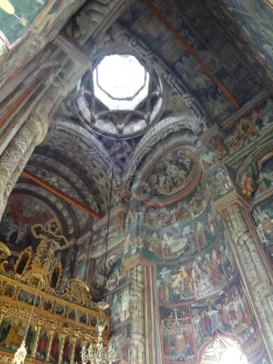 Picturile Manastirii Dragomirna - Bucovina