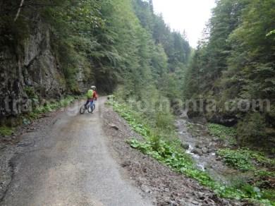 Tura de bicicleta Stana de Vale - Barajul Lesu pe Valea Iadului (Iadei)