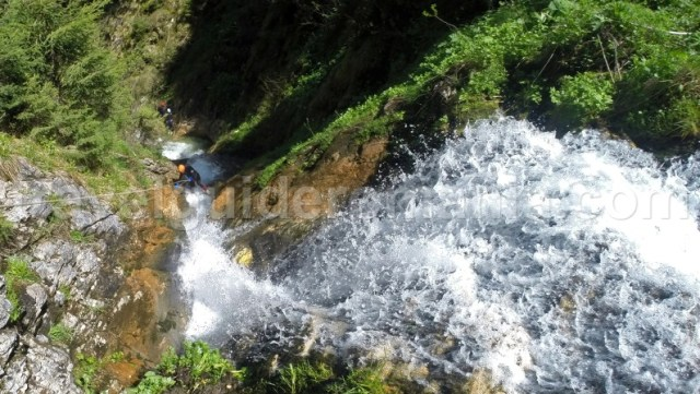 Canyons in romania - Horses Waterfall