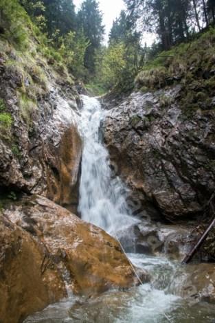 Cascada cinci din Canionul Cailor - Romania