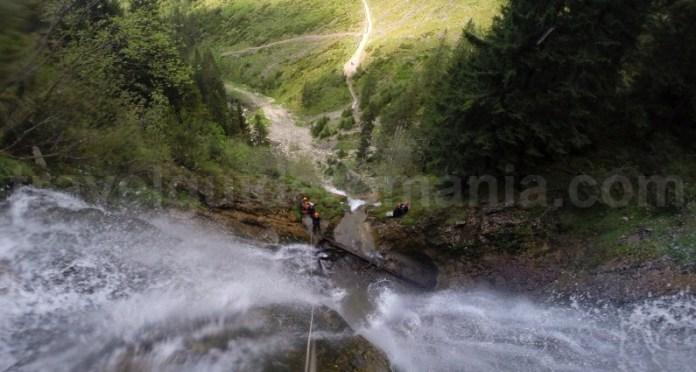 Cea mai mare cascada din Romania - Cascada Cailor