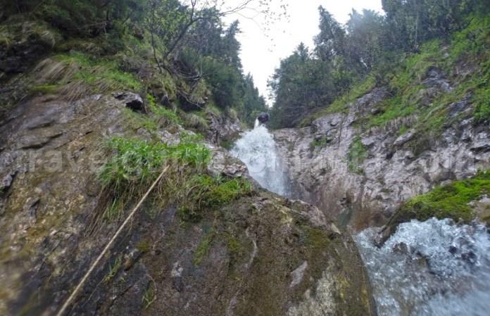 Coborand Cascada Cailor - Muntii Rodnei