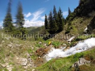 Prima cascada din Canionul Cailor - judetul Maramures