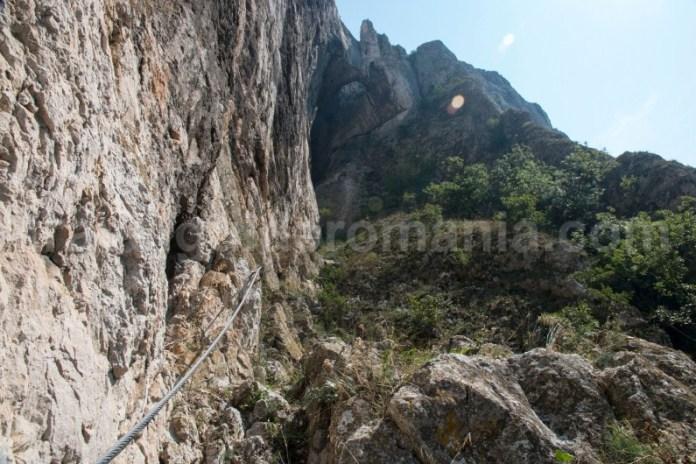 Descopera Romania - traseul de via ferrata din Cheile Turzii
