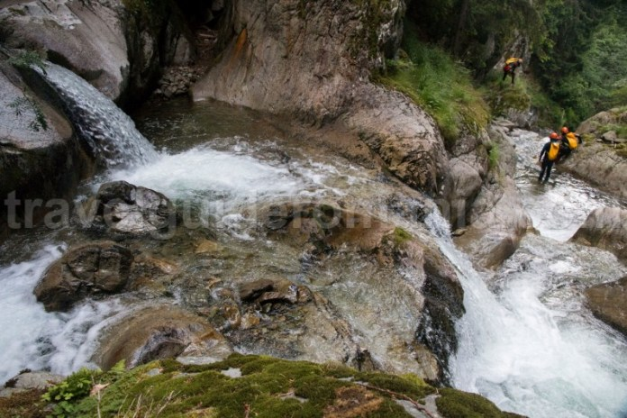 Canyoning Romania - Canionul Valea Marii