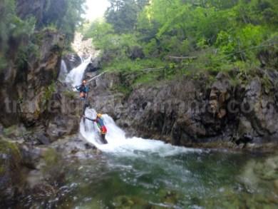 Canyoning Valea Marii - Muntii Retezat