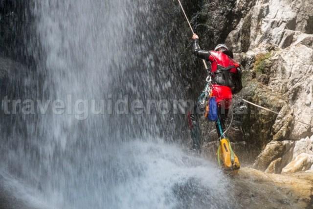 Canyoning in Romania - Canionul Valea Marii