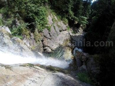 Coborare pe cascada mare - Valea Marii