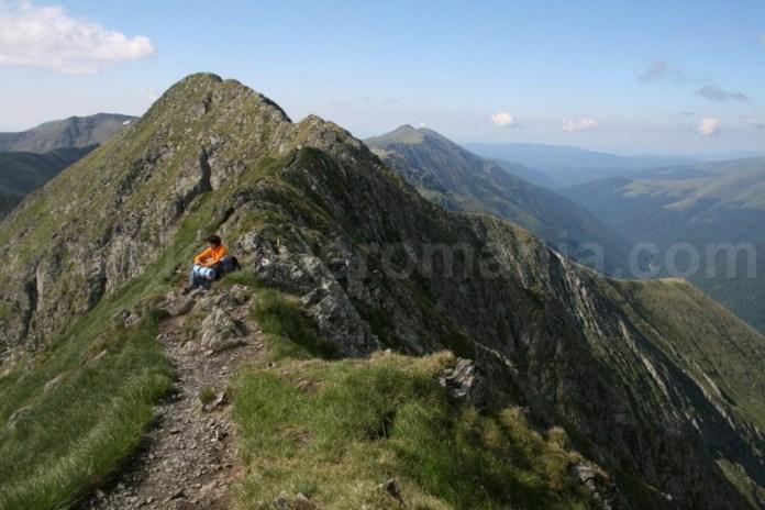 Creasta Vistea - Moldoveanu - traversarea Muntilor Fagaras