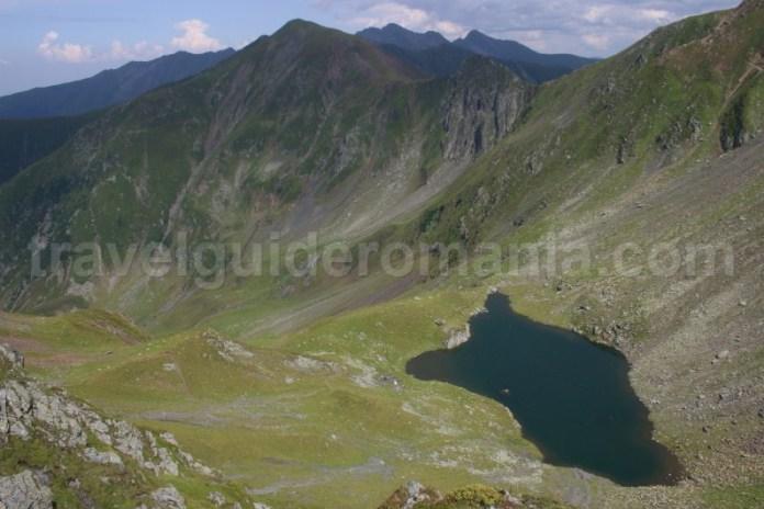 Lacul Avrig - traversarea Muntii Fagaras