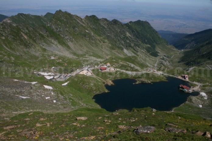 Lacul Balea si transfagarasanul - Muntii Fagaras
