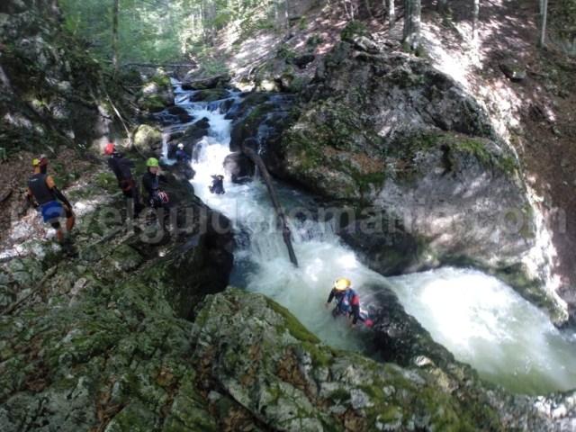 Canyoning in Padis - Muntii Apuseni